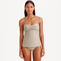 J.Crew Dd Cup Twist Front Swing Tankini Top