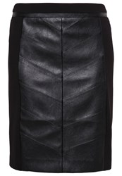 Morgan Jadis Pencil Skirt Noir Black