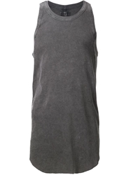 Lost And Found Ribbed Tank Top Grey