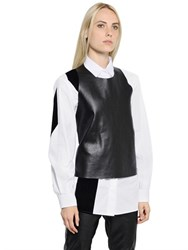Maison Martin Margiela Reversible Nappa Leather Top