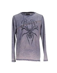 Rare Ra Re Topwear Sweatshirts Men Purple
