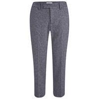 Paul By Paul Smith Women's Speckled Trousers Navy Blue