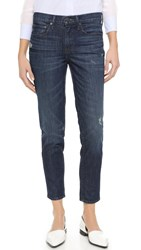 Vince Mason Relaxed Rolled Jeans Hyperion Ave