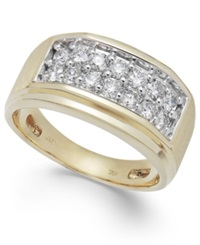 Macy's Men's Diamond Ring In 10K Gold 1 Ct. T.W.