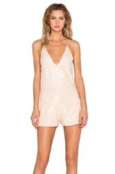 Motel Vanille Playsuit Beige