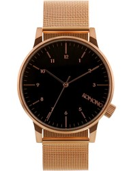 Komono Rose Gold Winston Royale Watch