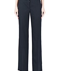 Paco Rabanne Tailored Straight Leg Pants Black