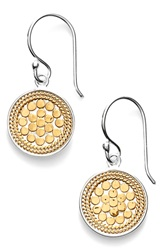 Anna Beck 'Gili' Small Drop Earrings Gold Silver