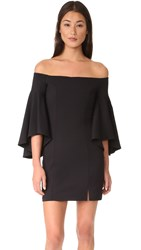Susana Monaco Cara Off Shoulder Dress Black