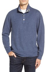 Tommy Bahama Men's Cold Springs Mock Neck Sweater Blue Note