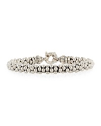 Lagos Sterling Silver Caviar Rope Bracelet 7Mm