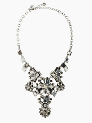 Kate Spade Space Age Floral Statement Pendant Hematite Multi
