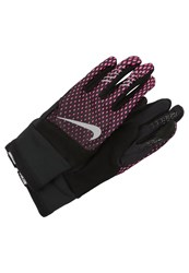Nike Performance Elite Run Gloves Hyper Pink Black Silver