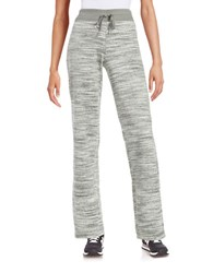 Calvin Klein Space Dyed Velour Pants Heather Charcoal