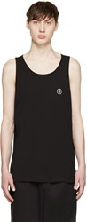 Marcelo Burlon Black Staff Tank Top