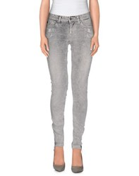 Andy Warhol By Pepe Jeans Trousers Casual Trousers Women Grey