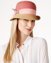 Collection Xiix Two Tone Woven Cloche