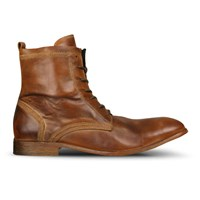H Shoes By Hudson Men's Swathmore Calf Leather Boots Tan