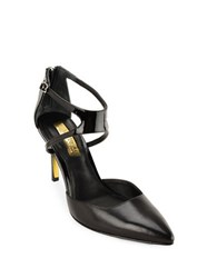 Lauren Ralph Lauren Kabira Leather Dress Pumps Black