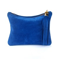 Miller And Jeeves Betsy Mini Royal Blue Suede