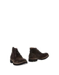 Kowalski Ankle Boots Dark Brown