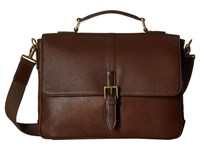 Scully Michael Workbag Brief Brown Briefcase Bags