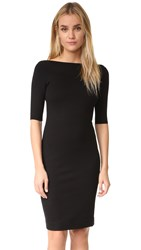 L'agence Roux Zip Back Dress Black