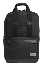 Men's Hex Convertible Backpack Grey Charcoal Canvas