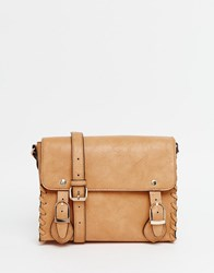Asos Mini Whip Satchel Bag Tan