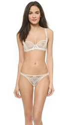 Myla Compelling Lace Balconette Bra Ivory Nude
