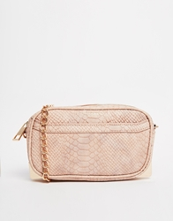 Carvela Quilted Cross Body Bag Blushsnake