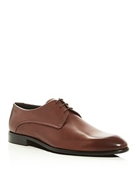 Hugo C Dresios Lace Up Derby Shoes Medium Brown