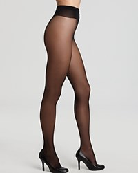 Wolford Tights Individual 10 Back Seam 018563 Black