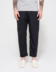 Camo Patrik Wide Trousers Navy