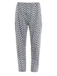 Lemaire Printed Cotton Trousers