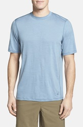 Ibex 'U Sixty' Regular Fit Merino Wool T Shirt Pale Sky