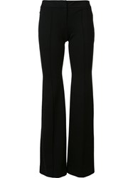 L'agence Tailored Straight Trousers Black