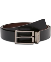 Kenneth Cole Reaction 32Mm Cut Edge Bridle Reversible Buckle Belt