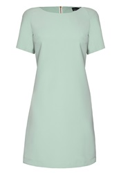 James Lakeland Pastel Shift Dress Green