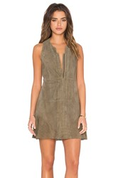 Hoss Intropia Front Zipper Dress Taupe