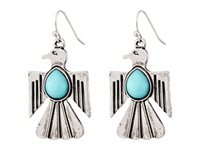 Gypsy Soule Thunderbird Drop Earrings Silver Turquoise Earring Multi