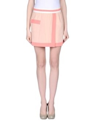 Marco Bologna Mini Skirts Sand