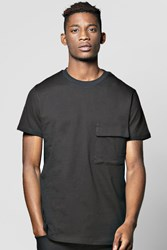 Tshirt With Large Military Pocket