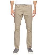 Volcom Vorta Twill Pant Beige Men's Casual Pants