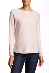 Ted Baker Babell Rib Detail Oversized Sweater Pink