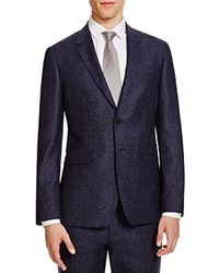 Paul Smith Donegal Slim Fit Sport Coat Navy