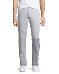 Jachs Bowie Soft Fit Stretch Twill Pants Gray