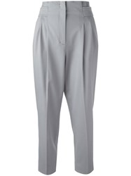 Dorothee Schumacher High Waisted Cropped Pants Nude Neutrals