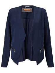 Hugo Boss Boss Orange Ocuty Edge To Edge Jacket Dark Blue