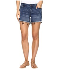 Calvin Klein Jeans Weekend Shorts In Miller Miller Women's Shorts Blue